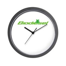 Biodiesel frog classic Wall Clock