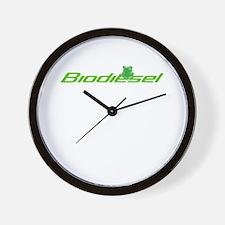 Biodiesel frog classic Wall Clock