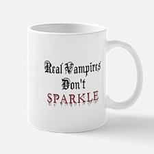 Real Vampires Don't Sparkle Mug