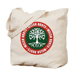 Welsh Roots Tote Bag