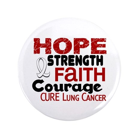 """HOPE Lung Cancer 3 3.5"""" Button"""