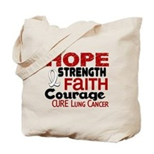 HOPE Lung Cancer 3 Tote Bag