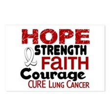 HOPE Lung Cancer 3 Postcards (Package of 8)