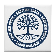 Scottish Roots Tile Coaster
