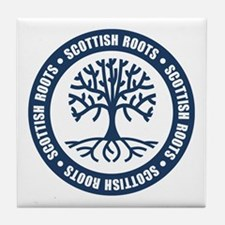 Scottish Roots Tile Coaster