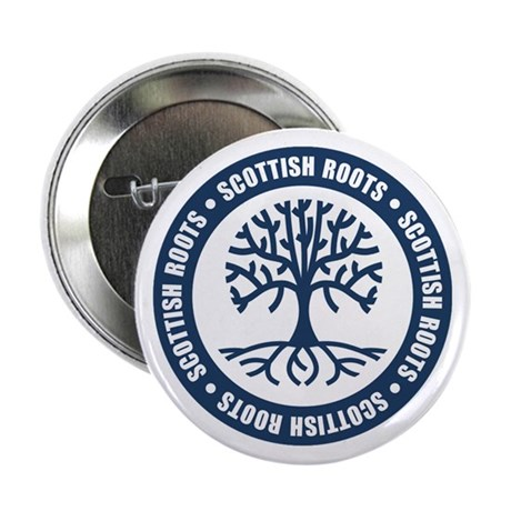 "Scottish Roots 2.25"" Button"