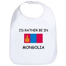 I'd rather be in Mongolia Bib
