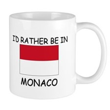 I'd rather be in Monaco Mug