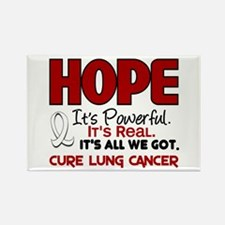 HOPE Lung Cancer 1 Rectangle Magnet