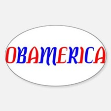 Obamerica!!!! Oval Decal