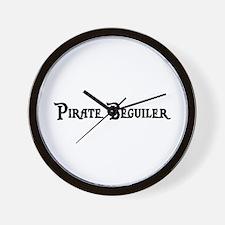 Pirate Beguiler Wall Clock