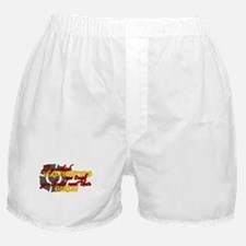 Funny Firefighters girlfriend Boxer Shorts