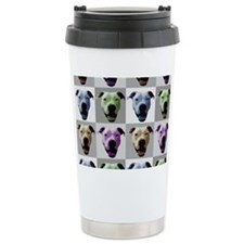 American Bulldog Travel Mug