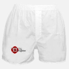 Unique Wife firefighter Boxer Shorts