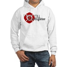 Unique Proud girlfriend of a firefighter Hoodie