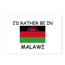 I'd rather be in Malawi Postcards (Package of 8)