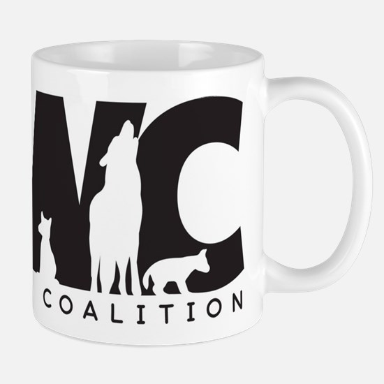Red Wolf Coalition Logo Mug Mugs