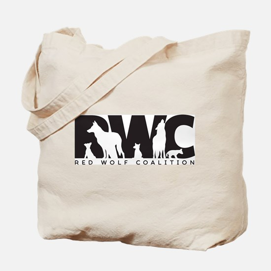 Red Wolf Coalition Logo Tote Bag