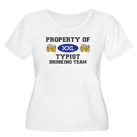 Property of Typist Drinking Team Women's Plus Size