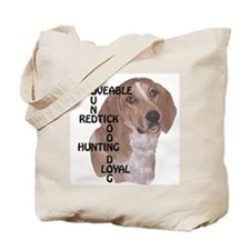 redtick hound crossword Tote Bag