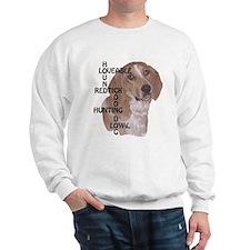 redtick hound crossword Sweatshirt