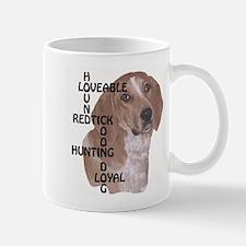 redtick hound crossword Mug