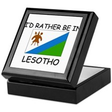 I'd rather be in Lesotho Keepsake Box