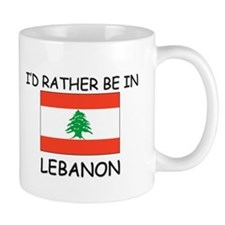 I'd rather be in Lebanon Small Mug