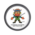 ZOOMER! Let's Play! Wall Clock