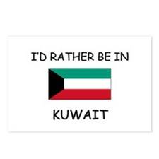 I'd rather be in Kuwait Postcards (Package of 8)