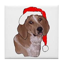 redtick Christmas Tile Coaster