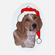 redtick Christmas Oval Ornament