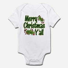 MERRY CHRISTMAS Y'ALL Infant Bodysuit