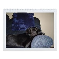 black lab Wall Calendar