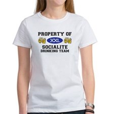 Property of Socialite Drinking Team Tee
