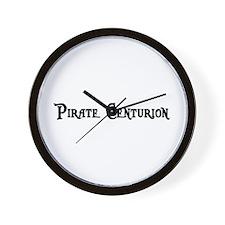 Pirate Centurion Wall Clock