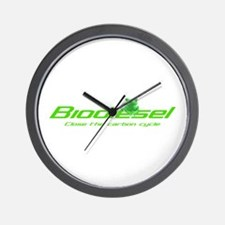 """Biodiesel """"Carbon cycle"""" Wall Clock"""