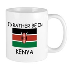 I'd rather be in Kenya Mug