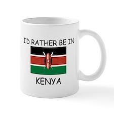 I'd rather be in Kenya Mug