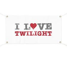 I Love Heart Twilight Banner