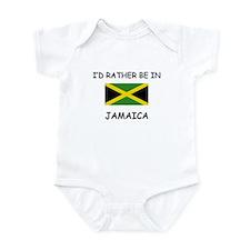 I'd rather be in Jamaica Onesie