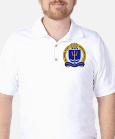 US Naval War College Golf Shirt