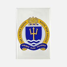 US Naval War College Rectangle Magnet