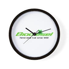 "Biodiesel ""Renewable Fuel"" Wall Clock"