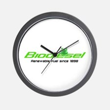 "Biodiesel ""Renewable Fuel"" Wall Clock"