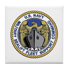 MSC Fleet Support Tile Coaster