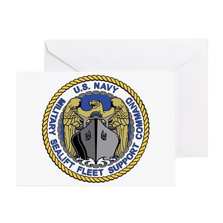 MSC Fleet Support Greeting Cards (Pk of 10)