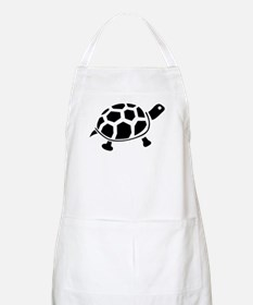 Black and white Turtle BBQ Apron