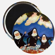 "NUNS CATCH A WAVE 2.25"" Magnet (10 pack)"