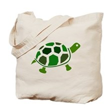 Color Turtle Tote Bag